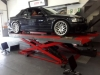 E46 M3 being aligned