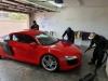 Audi R8 Drying